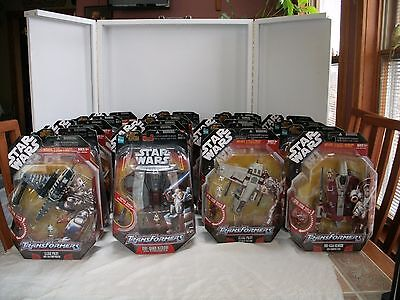 HUGE SELECTION STAR WARS TRANSFORMERS VEHICLES CROSSOVERS ~ 3 variations ~ MOC
