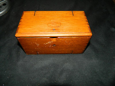 Antique Sewing Machine Oak fold Out Box Accessories not included