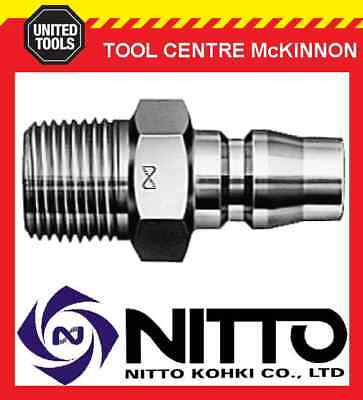 """Genuine Nitto Male Coupling Air Fitting With 3/8"""" Male Thread (30Pm) – Japan"""