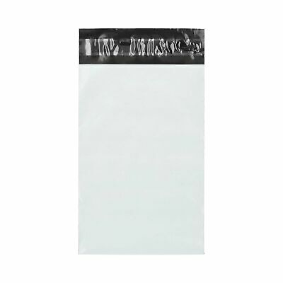 "6"" x 9"" White Poly Mailers Envelopes Shipping Self Seal 2 Mil 1000 Pieces"