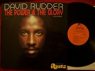 David Rudder / Charlie´s Roots - The power & the glory    klasse LP