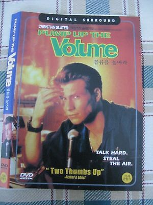 PUMP UP THE VOLUME - All Region Compatible Christian Slater NEW DVD