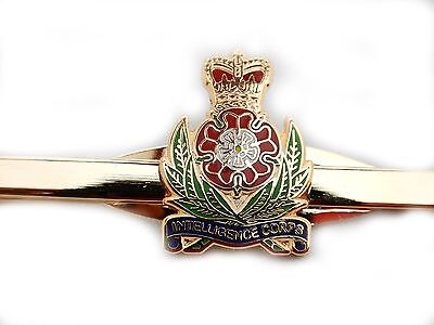 Military Intelligence Corps Tie Clip Slide