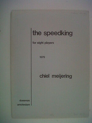 CHIEL MEIJERING The Speedking, for eight players 1979