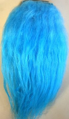 ICE FLIES | Icelandic sheep Hair for Fly Tying in Blue Color