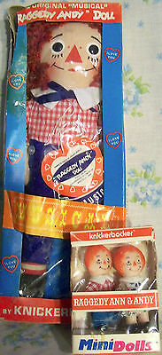11 Doll Lot-Raggedy Ann, Andy, Burger King, McDonald, Cupie, & others, & BOOK