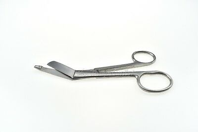 """Lister Bandage Left Hand Scissor First Aid Student Small & Large Ring Size 5.5"""""""