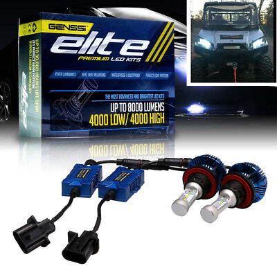 H13 LED Headlight Bulbs. Fits some newer Polaris ATVs RZR Polaris 4012279