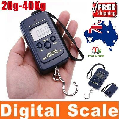 Digital Electronic Scale Hanging Fishing Luggage Pocket Portable Weight Handheld