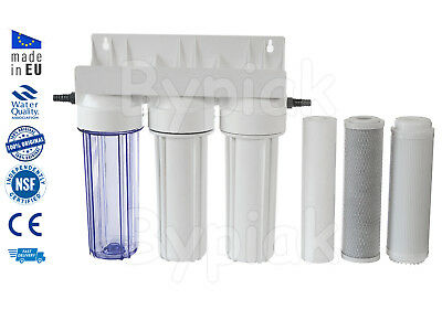 Koi Ponds & Dechlorinator HMA water filter with garden hose connectors