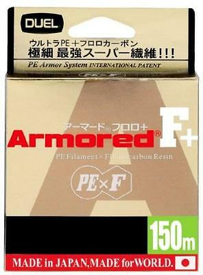 Duel ARMORED F + 150M #0.4 Fishing line Light Blue from Japan