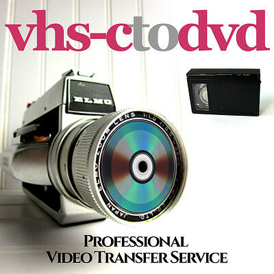 Vhs-C Video To Dvd Transfer Service - Retain Your Special Memories On Dvd