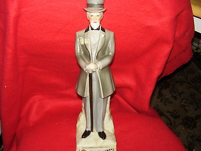 VINTAGE 1969 KENTUCKY GENTLEMAN LIQUOR DECANTER-EMPTY