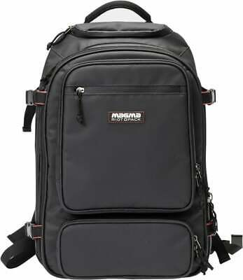 Magma Riot DJ and producer Backpack - Great to transport all your Live DJ too...