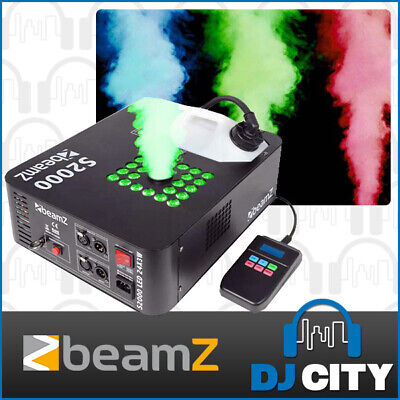 S2000 Beamz 2000W Coloured Smoke Machine with DMX