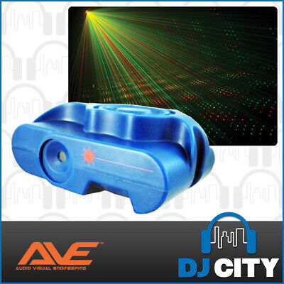Party Laser Light Red and Green Beams Multi-Point with Sound Activation Mode