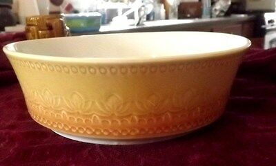 "Syracuse Carefree Calypso China USA "" LARGO "" Vegetable Serving Bowl BEAUTIFUL"