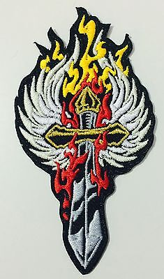 Sword and Wing embroidered PATCH