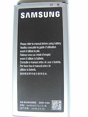 New OEM battery for Samsung Galaxy S5 S IV SIV - EB-BG900BBC with NFC