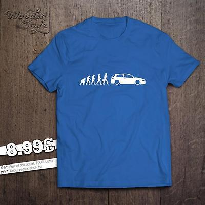 Evolution Of Man Alfa Romeo 147 1.6 2.0 Twin Spark 1.9 Jtd Selespeed Gta T-Shirt