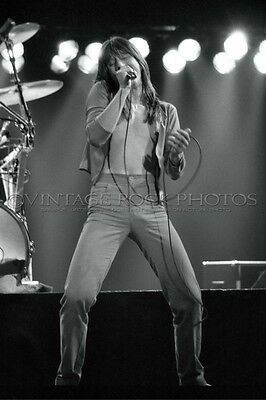 Steve Perry Journey Photo 8x12 or 8x10 inch 1980's Live Concert From Negative 28