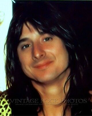Steve Perry Journey Photo 8x10 or 8x12 inch 1980's Candid Shot Pro Lab Print 40
