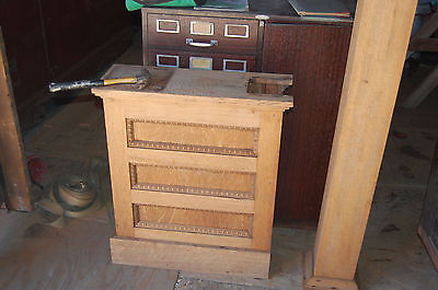 Antique Oak Arts/craft Colonnade Old House Parts Architectural Salvage Old Trim