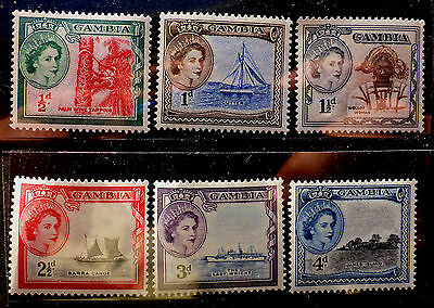 Gambia  Very Fine Mint Nh**  #153-8 Short Set