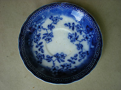 Antique Blue Willow Societe Ceramique Maestricht Saucer Made in Holland
