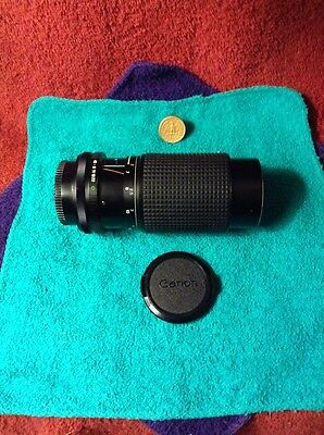 80-200mm f/4.5 Tokina RMC zoom lens for Canon mount - L7144