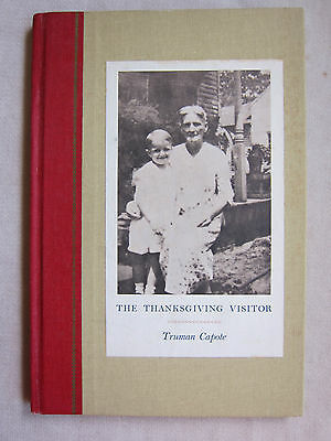 Old Book The Thanksgiving Visitor Truman Capote Dated 1967 VGC