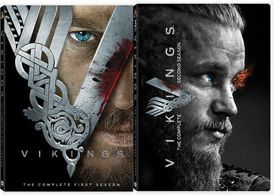 Vikings Complete Seasons 1-2 One Two (DVD) SHIPS NOW FREE