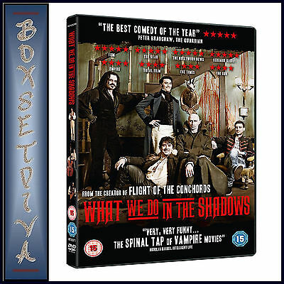 WHAT WE DO IN THE SHADOWS - Jemaine Clement  *BRAND NEW DVD***