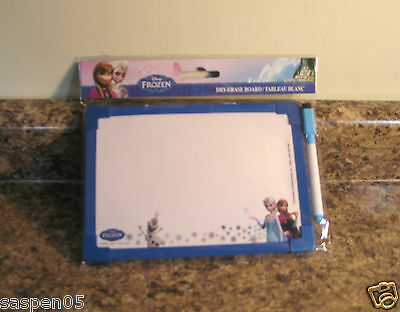 Disney Frozen Dry Erase Board with Marker NEW