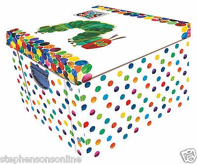 The Hungry Caterpillar By Eric Carle Large Collapsible Storage Box