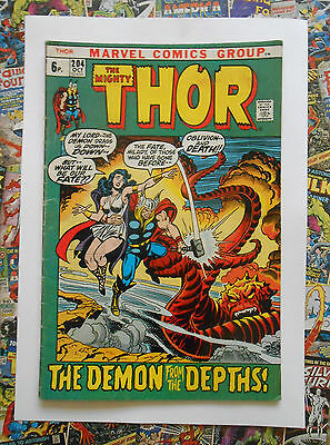 Thor #204 - Oct 1972 - Mephisto Appearance! - Vg/fn (5.0) Pence Copy!