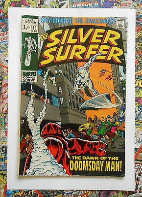 SILVER SURFER #13 - FEB 1970 - DOOMSDAY MAN 1st APPEARANCE! - VG (4.0)