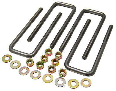 Ubolt Kit for Leaf Spring Suspension, Fits 63-72 GMC Truck and 1970-72 Chevy C10