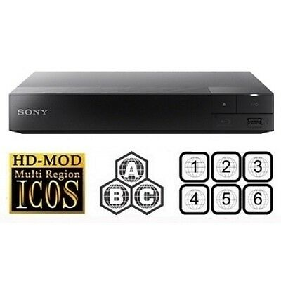 Sony BDP-S1500 BLU-RAY DVD CD player ** MULTI-REGION /  REGION-FREE upgraded**