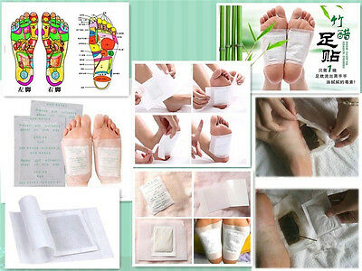 Hot Unisex Detox Foot Pads Patch Detoxify Toxin Adhesive Keeping Fit Healthy
