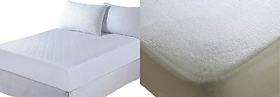 Waterproof Terry Towel Mattress Protector Extra Deep Fitted Sheet (All Sizes)