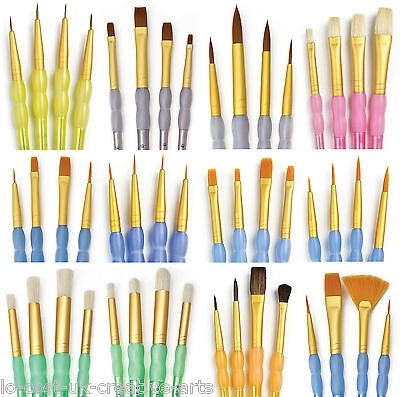 Royal Langnickel Value Pack Artist Paint Brushes For Acrylic Oil Watercolour