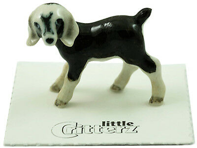 """LC834 - Little Critterz - Nubian Goat kid  """"Domino"""" (Buy any 5 get 6th free!)"""
