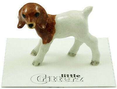 "LC835- Little Critterz - ""Chipolte""  the Boer Goat kid (Buy any 5 get 6th free!)"