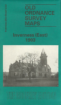 Old Ordnance Survey Map Inverness East 1903