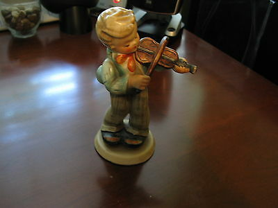 Vintage Jema Holland Large Boy with Violin Figurine