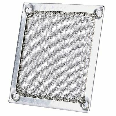 "8cm 3.15"" Aluminum Dustproof Cooling Fan Filter Mesh Guard Cover for PC Computer"