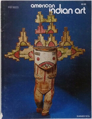 ANTIQUE NORTH AMERICAN INDIAN ART MAGAZINE - SUMMER 1976 ISSUE