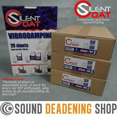 Land Rover Defender 110 LWB Silent Coat Sound Proofing Kit