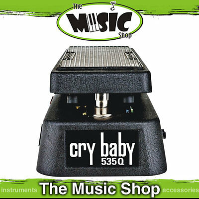 Dunlop Crybaby 535Q Multi Wah Guitar Pedal  - Adjustable Boost - New GCB535Q